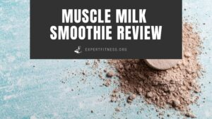 EF- muscle milk smoothie review
