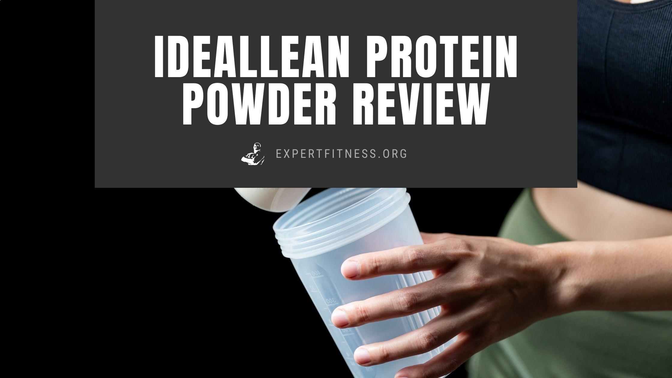 ideallean protein powder review