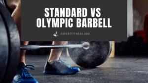 standard vs. olympic barbell